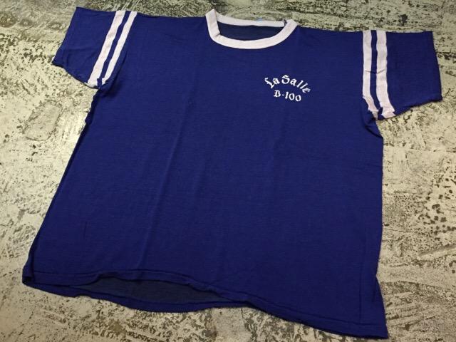 4月27日(水)大阪店ヴィンテージ入荷!#2 ヴィンテージアスレチック編!30\'s~70\'sRayonFootballT-Shirt!! _c0078587_13411931.jpg