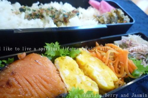 【今日のお弁当】魚久の粕漬_c0332287_12345861.jpg