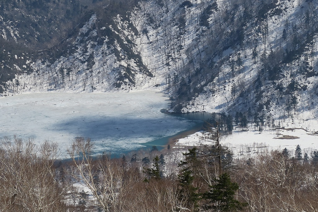 漁岳と北漁岳、4月24日_f0138096_13212727.jpg
