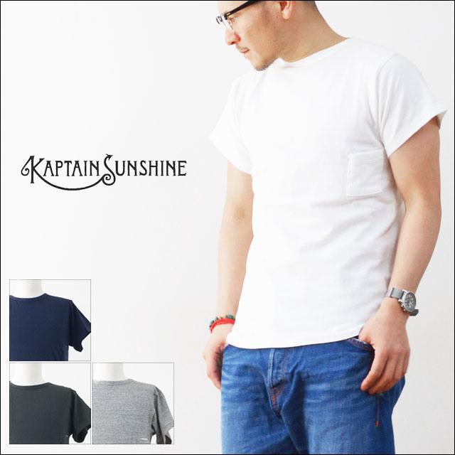 KAPTAIN SUNSHINE [キャプテンサンシャイン] RUNNER TEE SHIRTS [KS6SCS05] MEN\'S_f0051306_11434803.jpg
