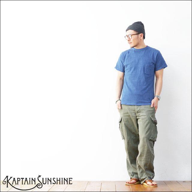 KAPTAIN SUNSHINE [キャプテンサンシャイン] BASIC POCKET TEE [KS6SAI04] MEN\'S_f0051306_11470512.jpg