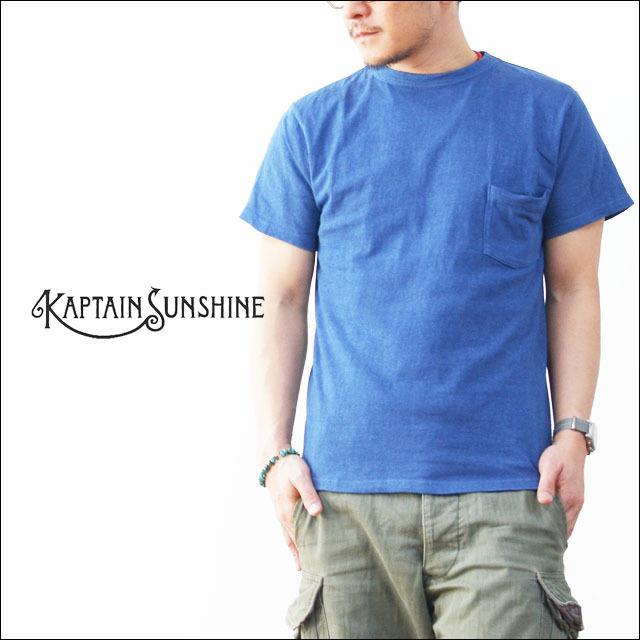 KAPTAIN SUNSHINE [キャプテンサンシャイン] BASIC POCKET TEE [KS6SAI04] MEN\'S_f0051306_11470514.jpg