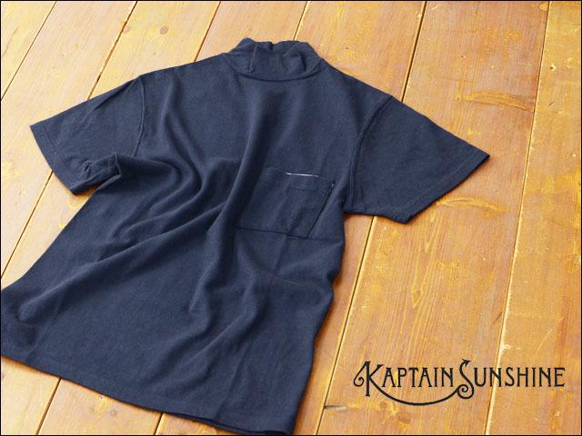KAPTAIN SUNSHINE [キャプテンサンシャイン] NAVY YARD NECK TEE [KS6SCS02]  MEN\'S_f0051306_21264430.jpg
