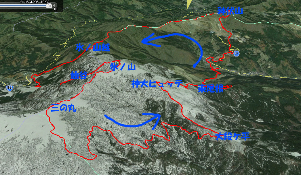 2016.04.26 氷ノ山ぐるりんこ_a0062810_1718629.jpg