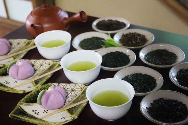 喜楽亭で楽しむ おいしい日本茶 4月_b0220318_21074302.jpg