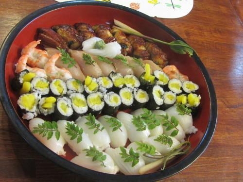 久しぶりのお寿司ランチ_a0173527_15204158.jpg