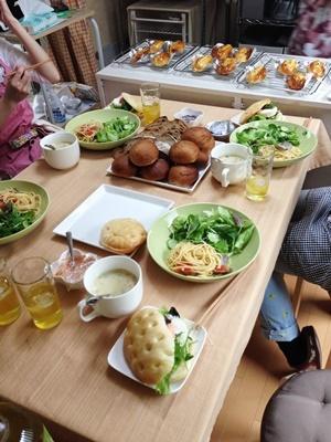パン教室「イングリッシュマフィンとマヨネーズパン」!_a0165538_12050552.jpg