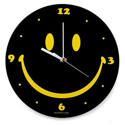 SECOND LAB SMILE TABLE CLOCK_f0111683_07561768.jpg