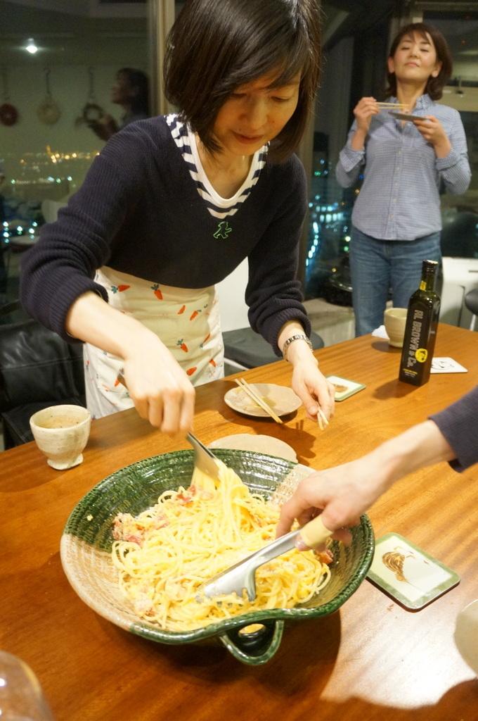 楽しい夜@みなとみらい_c0180686_15385537.jpg