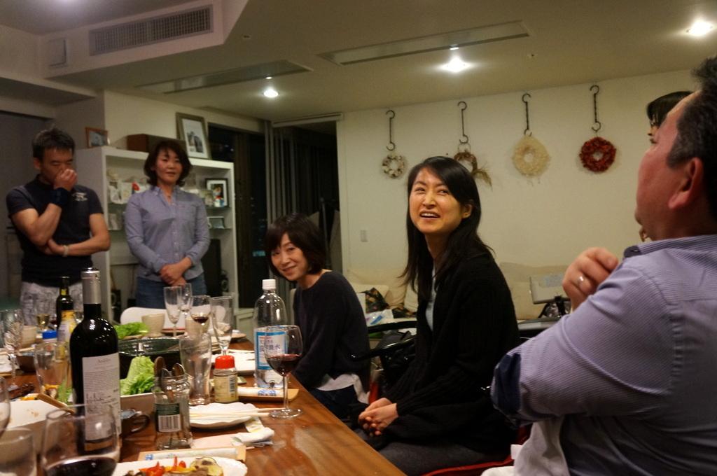 楽しい夜@みなとみらい_c0180686_15403321.jpg