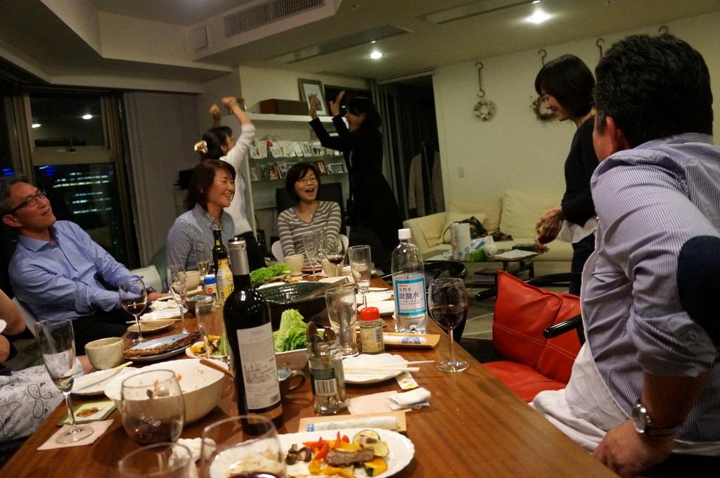 楽しい夜@みなとみらい_c0180686_15405014.jpg