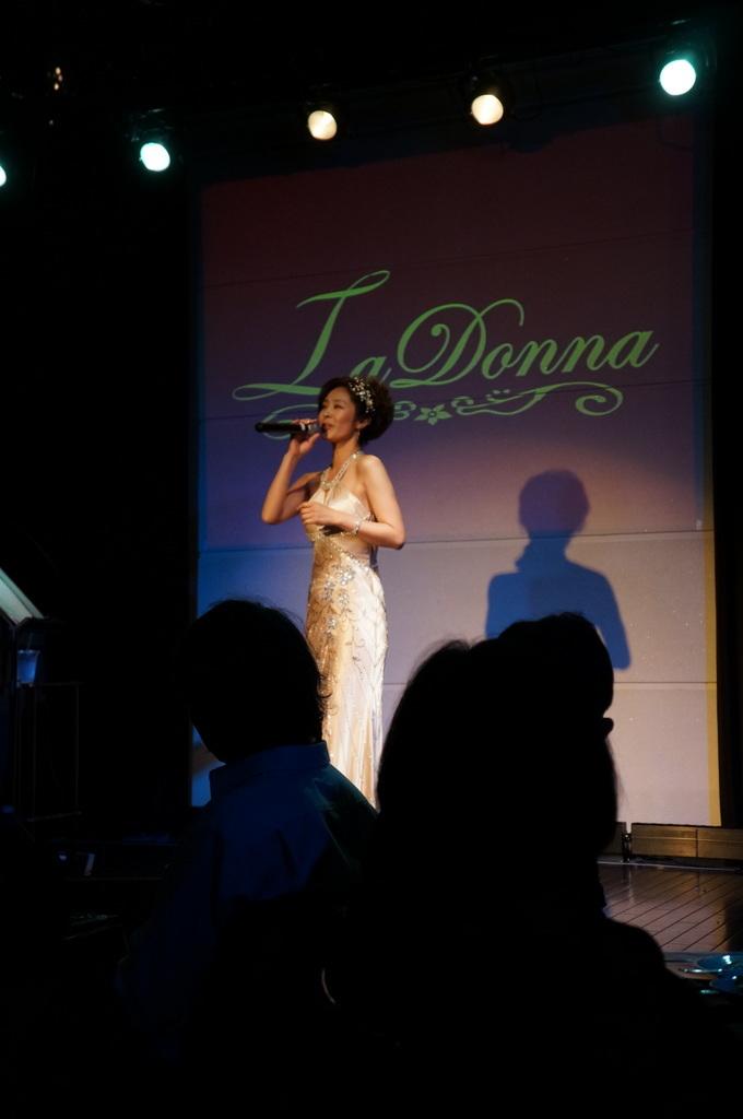 Y\'s ディナーショー@La Donna 神宮前_c0180686_19340733.jpg