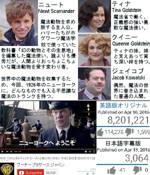 映画『ハリー・ポッター』スピンオフ新シリーズ作品の舞台は、なんとニューヨーク?!_b0007805_6472212.jpg
