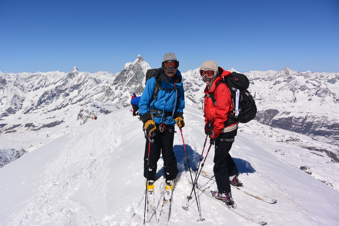 """2016年4月『雪と氷の峰々-アルプス・オートルート②』April 2016 \""""Re-challenge of Alps Haute Route②\""""_c0219616_5592782.jpg"""