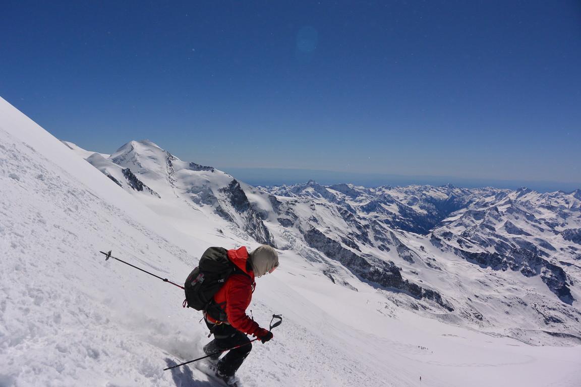 """2016年4月『雪と氷の峰々-アルプス・オートルート②』April 2016 \""""Re-challenge of Alps Haute Route②\""""_c0219616_602342.jpg"""