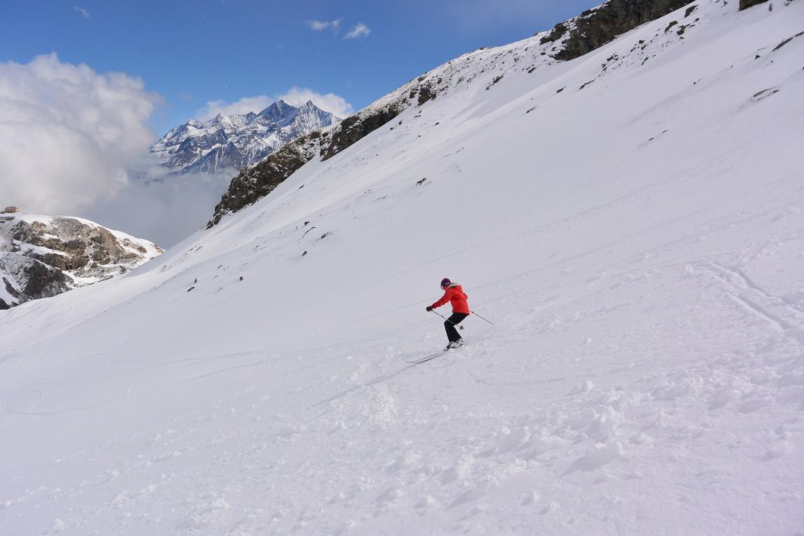 """2016年4月『雪と氷の峰々-アルプス・オートルート②』April 2016 \""""Re-challenge of Alps Haute Route②\""""_c0219616_6561317.jpg"""