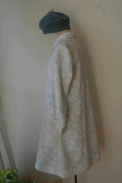 着物リメイク・woolの着物からコート_d0127925_10332895.jpg