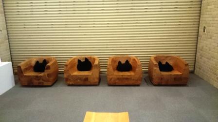 作業日誌(猫まみれ展三重作品陳列作業)_c0251346_17104657.jpg
