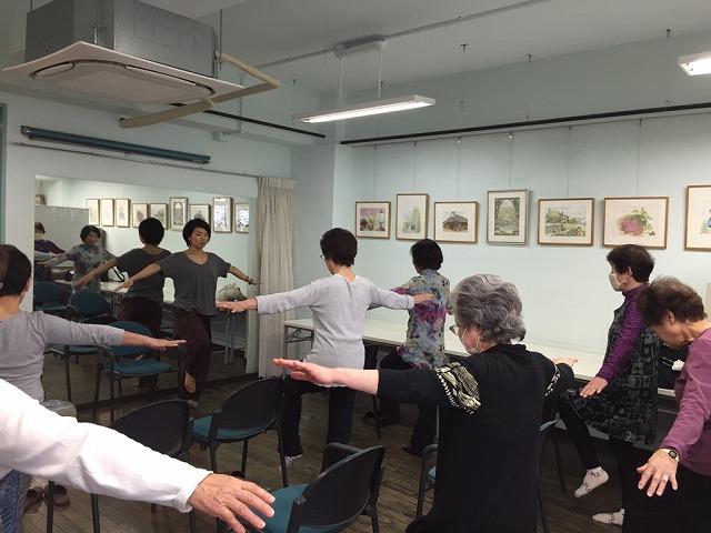 リズム体操と初歩健康麻雀_c0113948_15081151.jpg