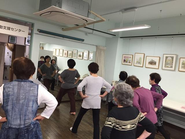 リズム体操と初歩健康麻雀_c0113948_15081741.jpg