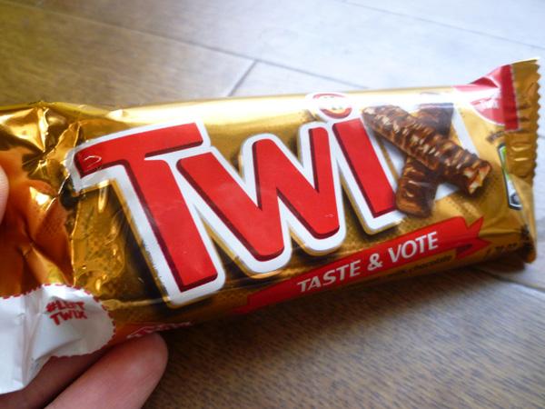 Mars Chocolate Twix_c0152767_171377.jpg