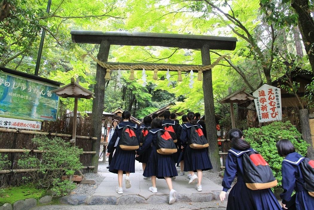 嵐山を歩くその1 ~野々宮神社、大河内山荘~_a0107574_19004297.jpg