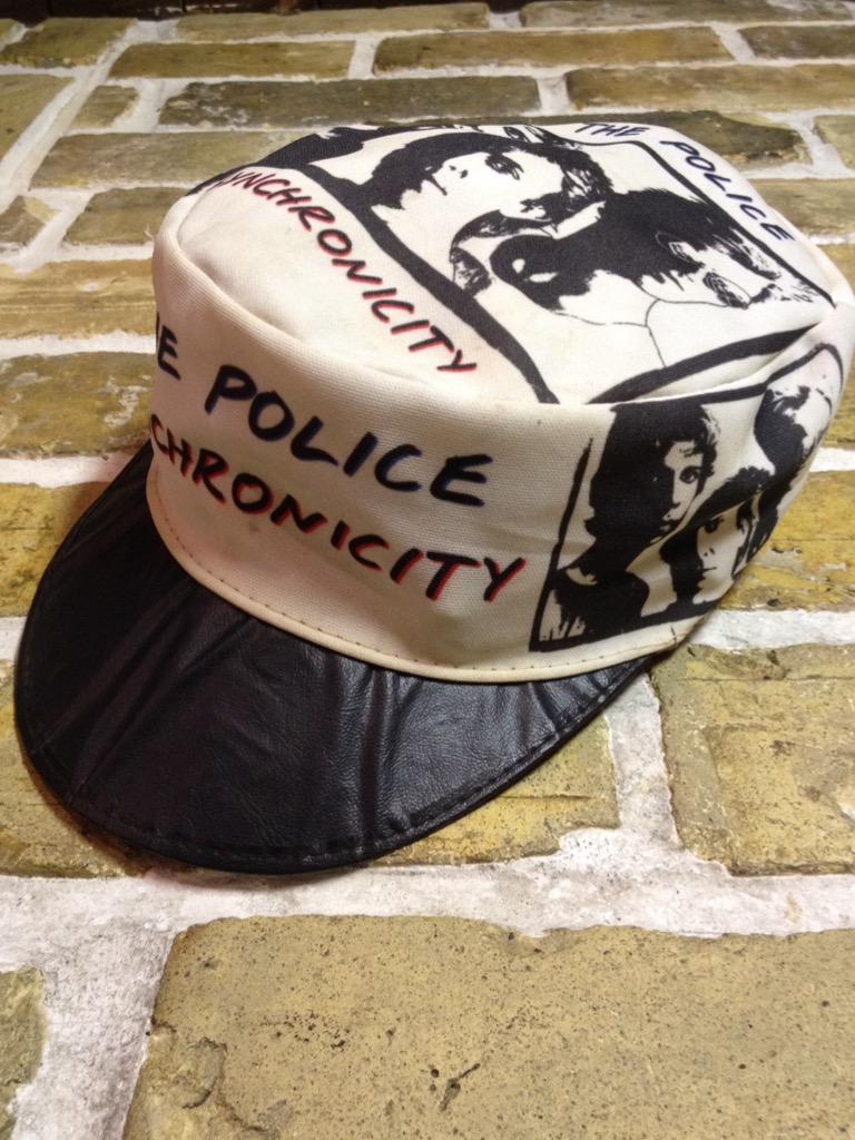 神戸店4/30(土)スーペリア入荷!5 1980\'s Police Synchronicity Cap! Band T!!!(T.W.神戸店)_c0078587_23375036.jpg