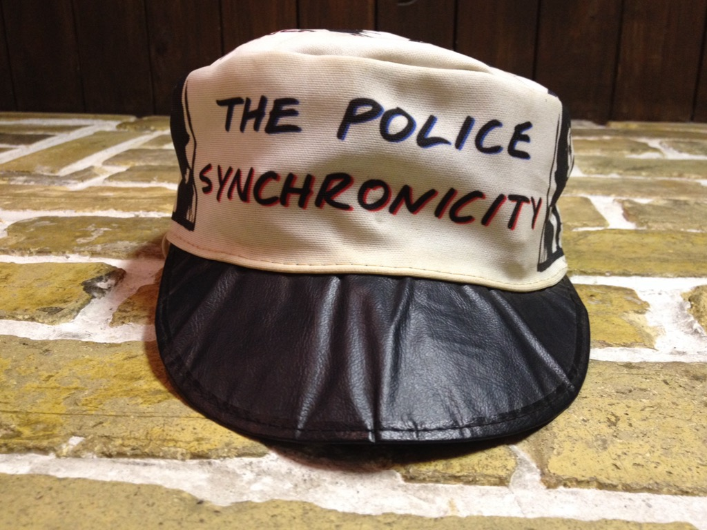 神戸店4/30(土)スーペリア入荷!5 1980\'s Police Synchronicity Cap! Band T!!!(T.W.神戸店)_c0078587_23375950.jpg
