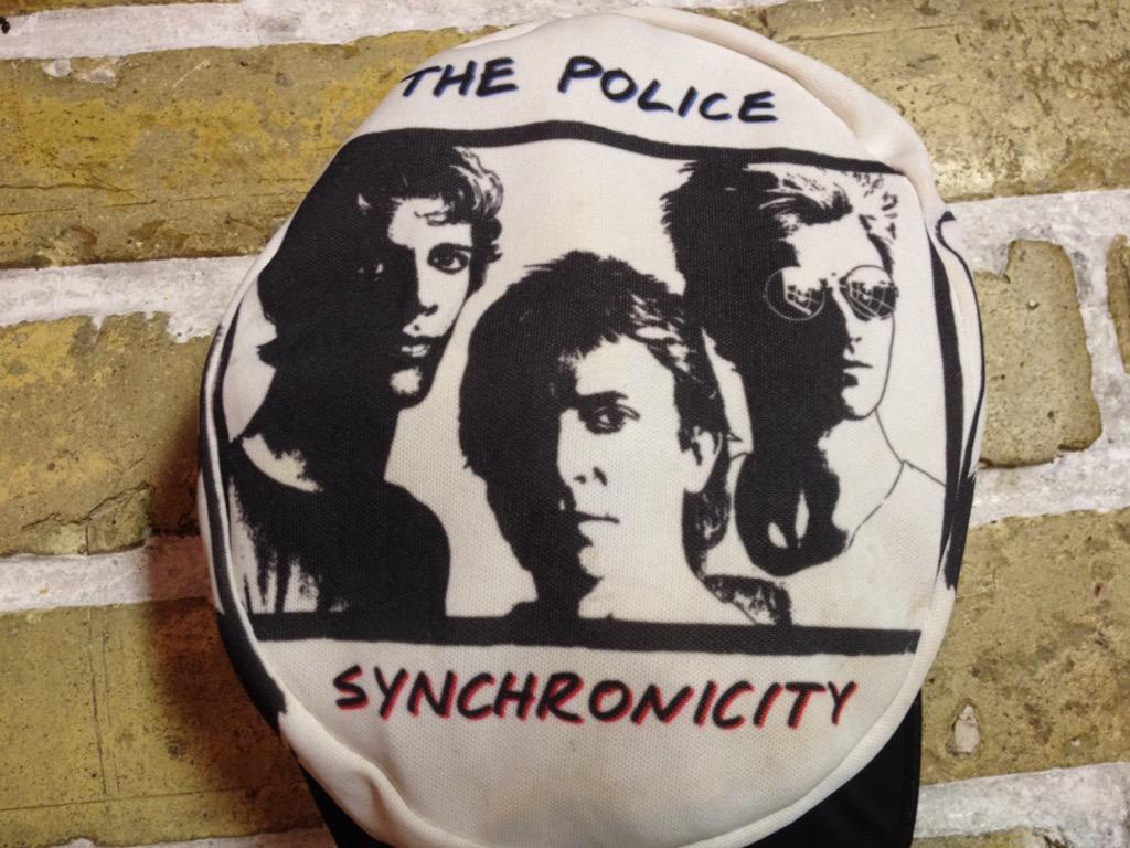 神戸店4/30(土)スーペリア入荷!5 1980\'s Police Synchronicity Cap! Band T!!!(T.W.神戸店)_c0078587_23383373.jpg