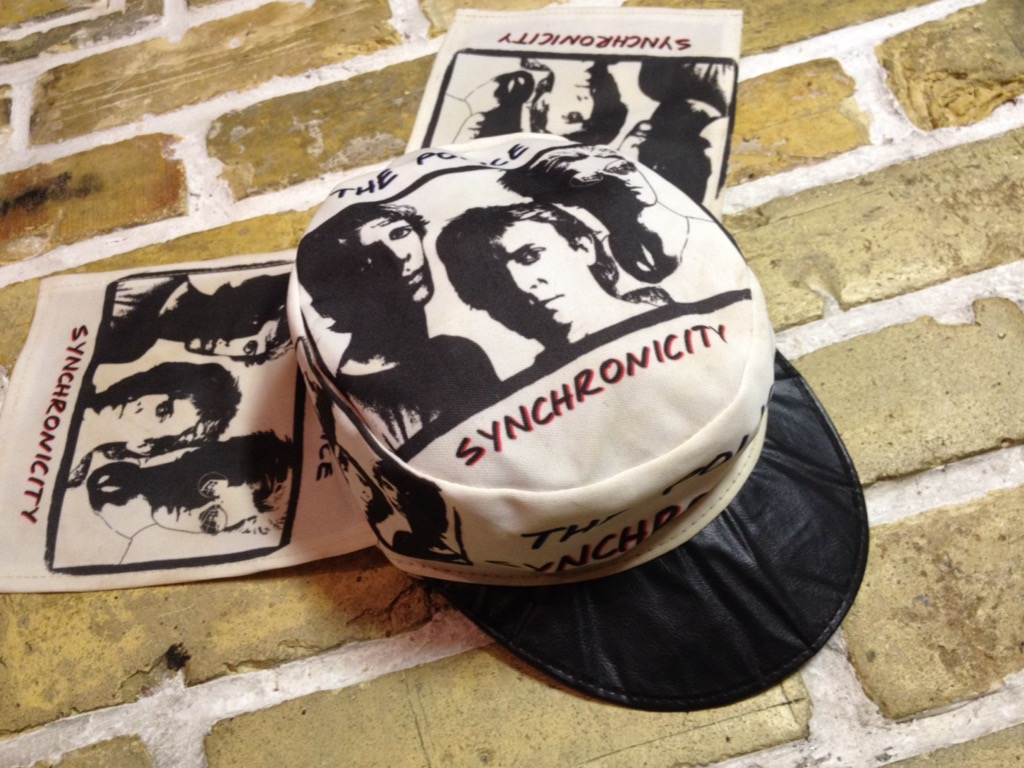 神戸店4/30(土)スーペリア入荷!5 1980\'s Police Synchronicity Cap! Band T!!!(T.W.神戸店)_c0078587_23394725.jpg