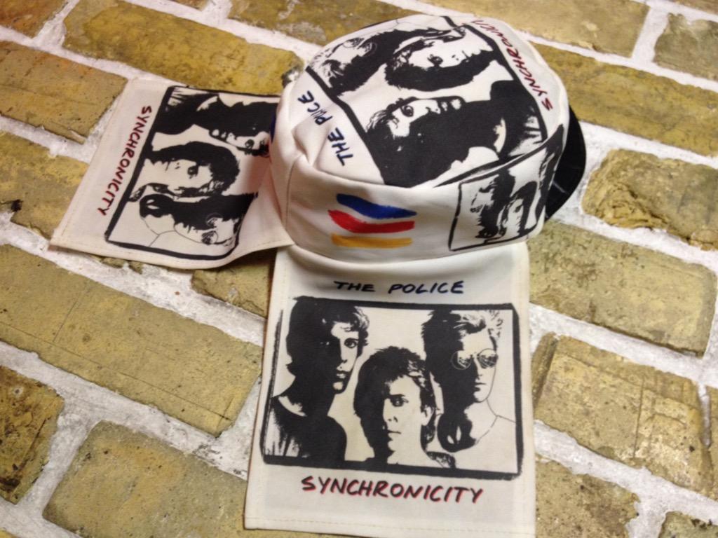 神戸店4/30(土)スーペリア入荷!5 1980\'s Police Synchronicity Cap! Band T!!!(T.W.神戸店)_c0078587_23395486.jpg