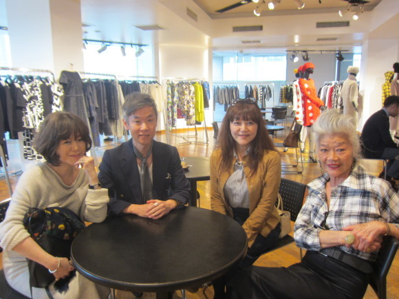 JUNKO SHIMADA 展示会♪_d0339889_21464171.jpg