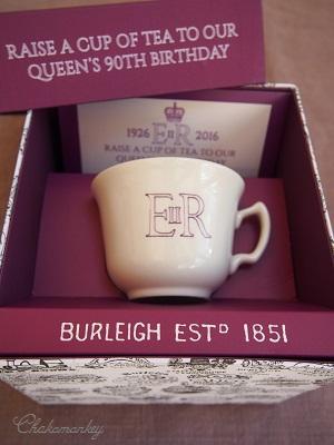 Burleighのエリザベス女王90歳記念マグとカップ&ソーサー_f0238789_184945100.jpg