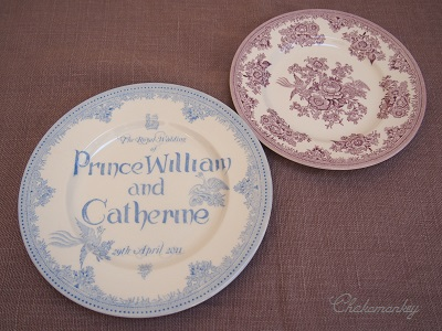 Burleighのエリザベス女王90歳記念マグとカップ&ソーサー_f0238789_1933657.jpg