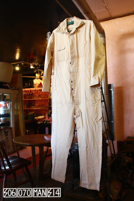1940s Vintage 日本製 メカニックスーツ つなぎ 作業服 NOS_e0243096_15134452.jpg
