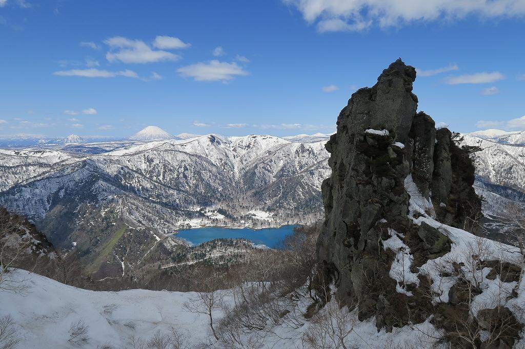 恵庭岳夏道、4月27日-速報版-_f0138096_18211633.jpg