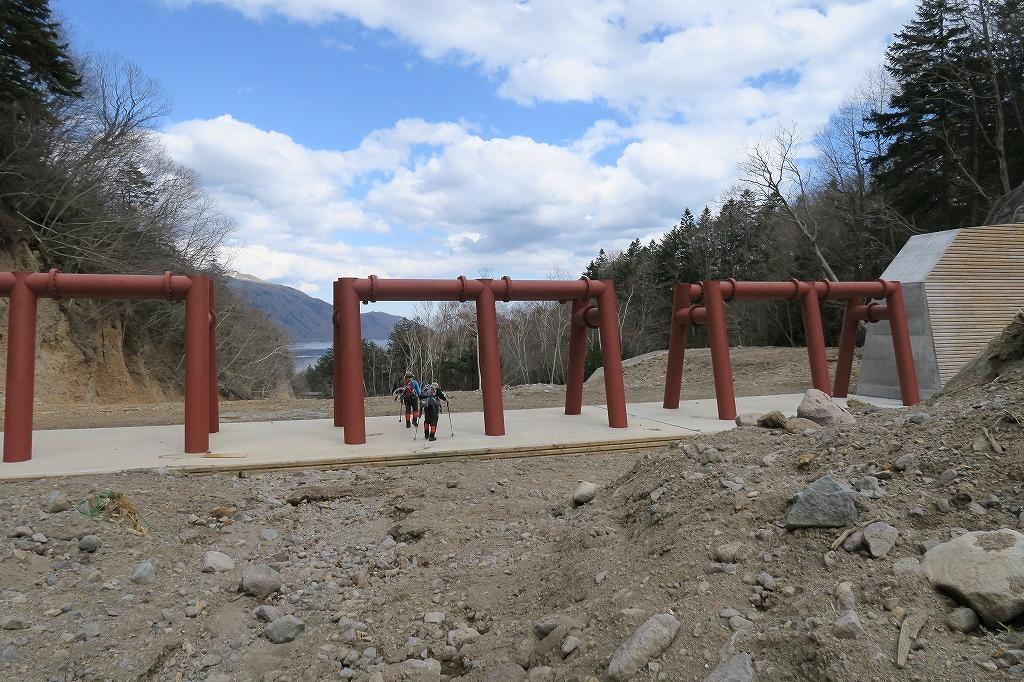 恵庭岳夏道、4月27日-速報版-_f0138096_18274452.jpg