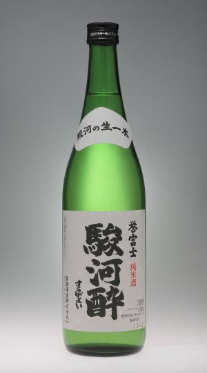駿河酔 誉富士 純米酒 [萩錦酒造]_f0138598_19461231.jpg