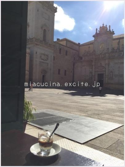 2015年イタリア食旅行記① レッチェ風のカッフェって?_b0107003_13002198.jpg