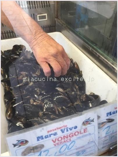 2015年イタリア食旅行記② ムール貝の美味しさに感激♪ロザリアの料理レッスン_b0107003_13433894.jpg
