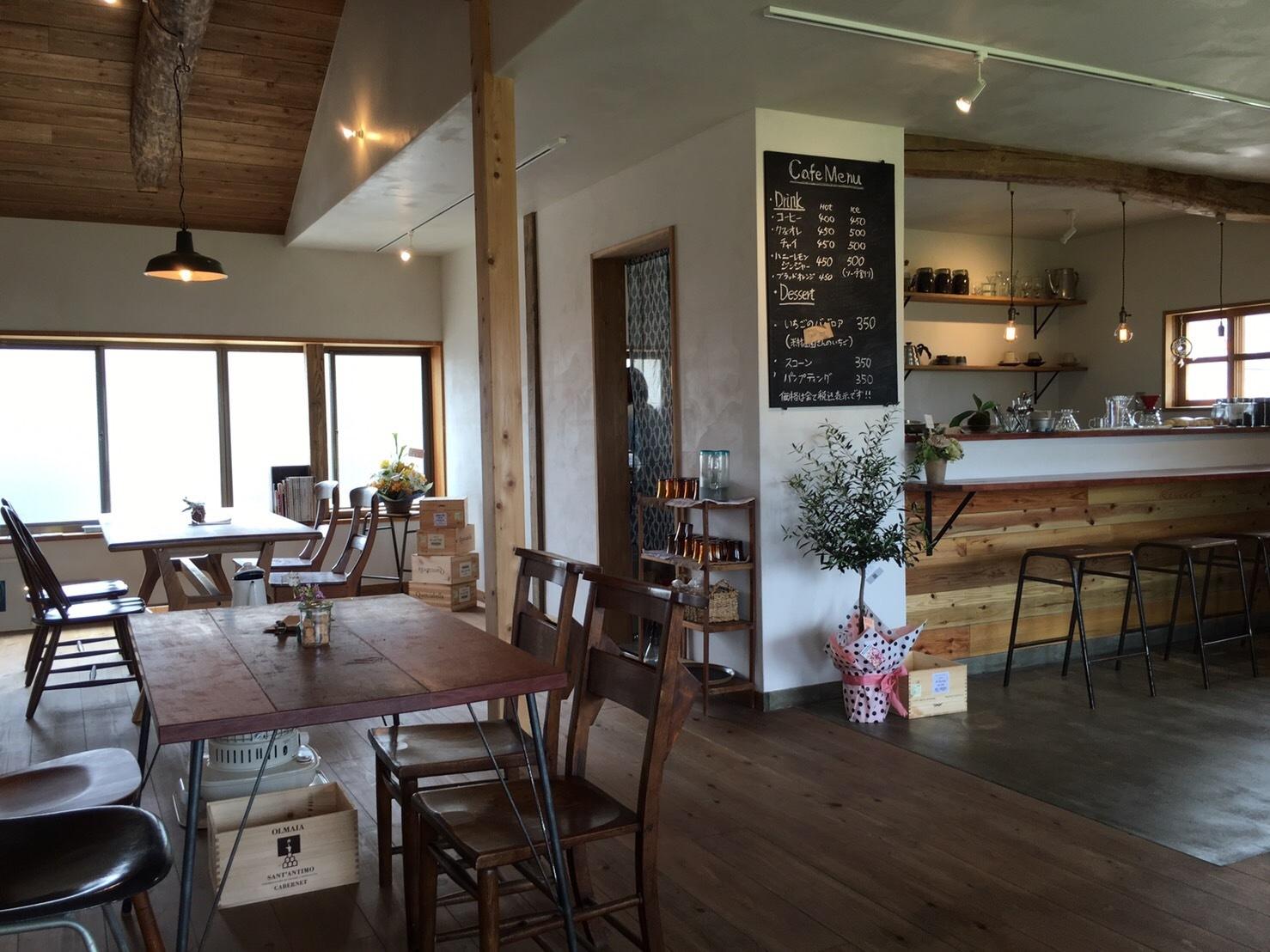 cafe ニジノキ @浦富_e0115904_15170708.jpg