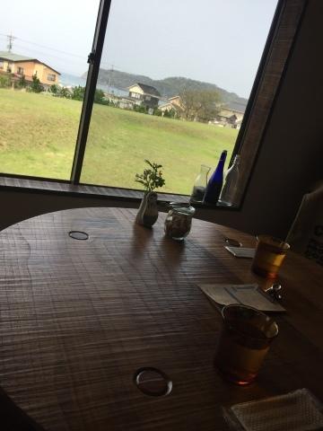 cafe ニジノキ @浦富_e0115904_15232252.jpg