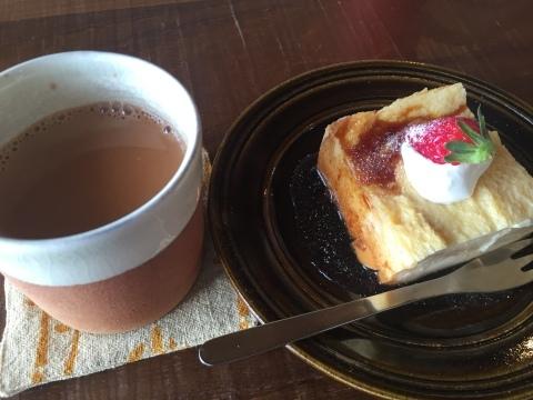 cafe ニジノキ @浦富_e0115904_16162403.jpg