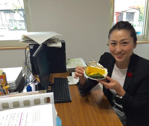 事務所でのひとコマ〜手作りかぼちゃプリン〜_b0199244_18294867.jpg