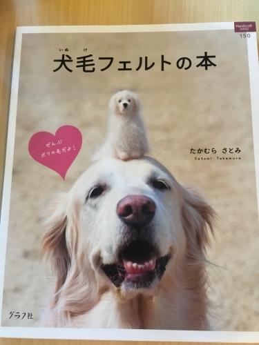 犬毛フェルトで桃太郎_c0364176_09264074.jpeg
