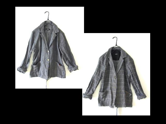 ピンストライプのジャケット_a0152283_08172647.jpg