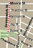 満開のチューリップに囲まれたNYの小さな公園、Washington Market Park_b0007805_033460.jpg