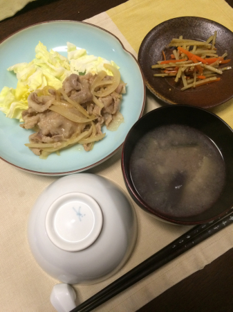 豚の生姜焼き_d0235108_20120267.jpg