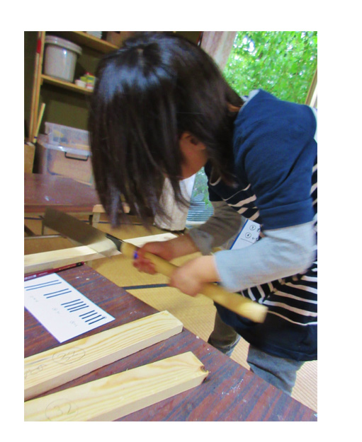 木工しごと (比良・小学生クラス)_f0211514_2154225.jpg