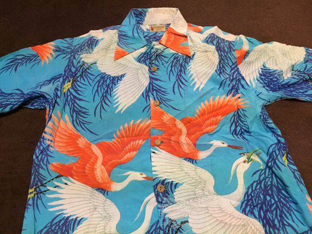 ゴールデンウィーク第2弾 4/30 入荷!40s  KRAMER\'S 和柄 hawaiian shirts!!_c0144020_1559584.jpg